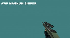 AWP magnum sniper model by me c: