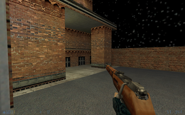 New map and haunting rifle test