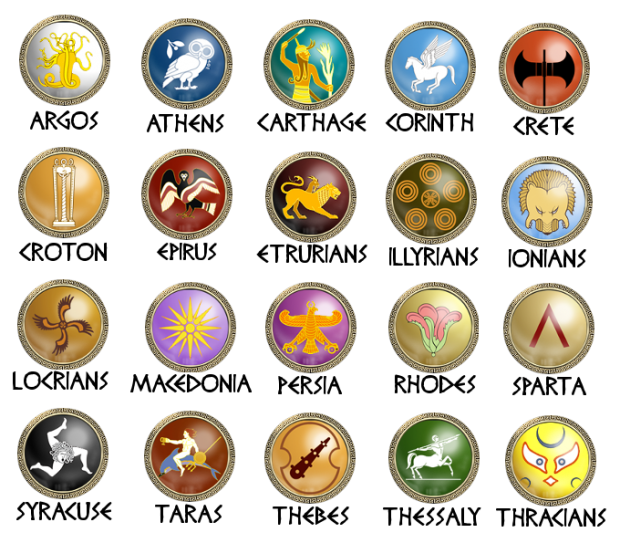 Faction symbols