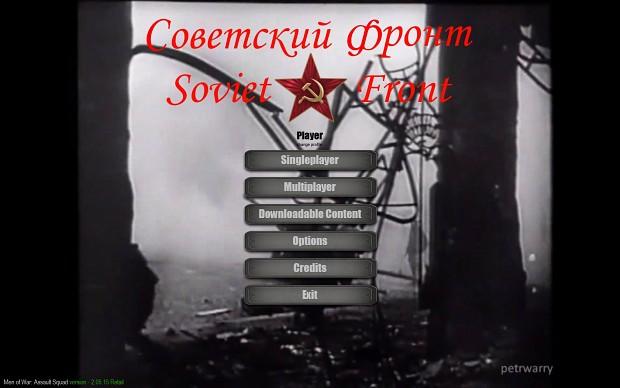 Soviet Front Mod Main Menu