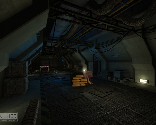 Episode 1 - Old corridor at the Rebel Base