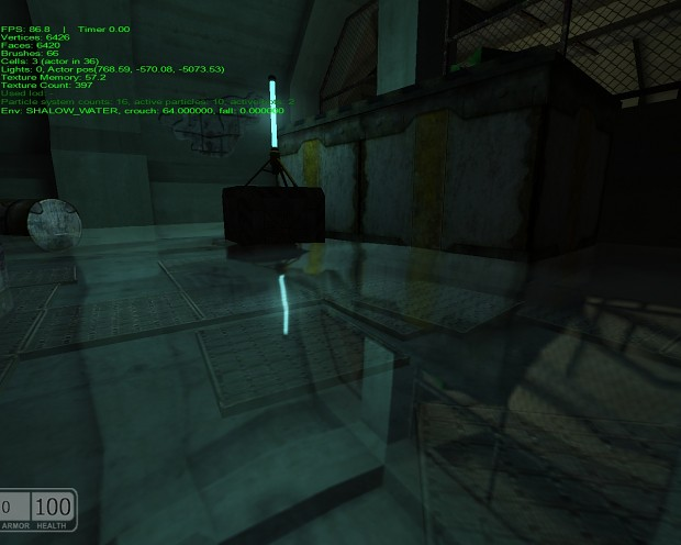 Episode 1 - example of cubemap on water surface