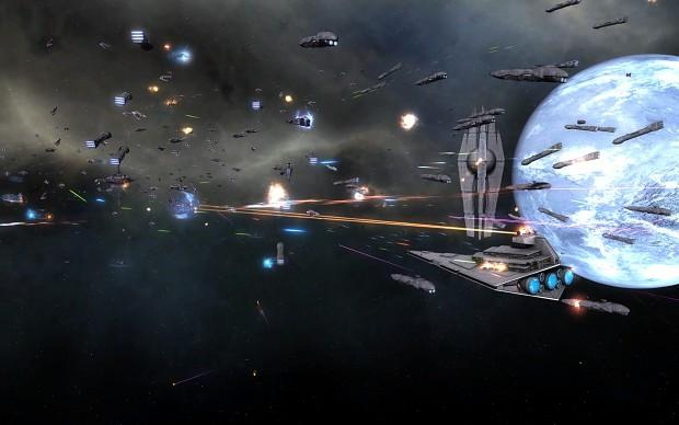 Galactic Empire vs the Traitorous Provians