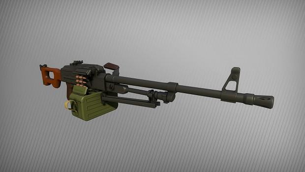 PKM Machine Gun - ARMA 3 - ADDONS & MODS: DISCUSSION
