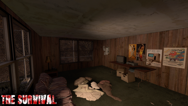 Trailer House interior