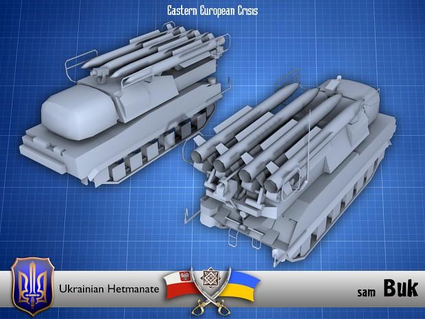Ukrainian Buk SAM