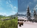 Seasons of Skyrim - Summer & Winter (The Elder Scrolls V: Skyrim)