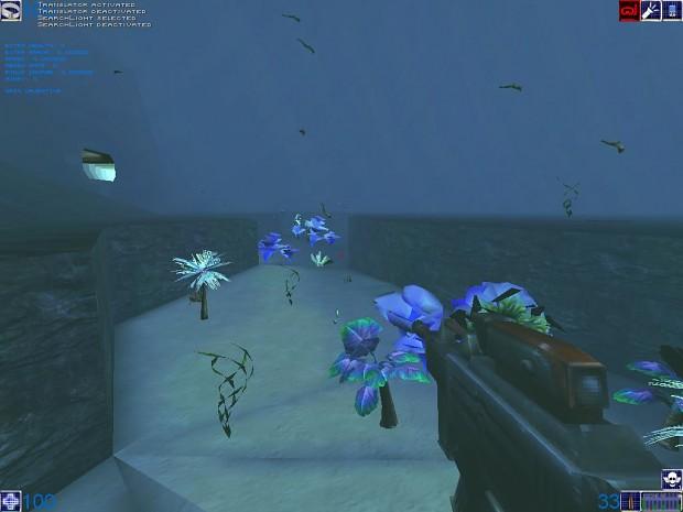 Underwater area