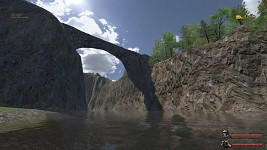 The Arch of River KNUD