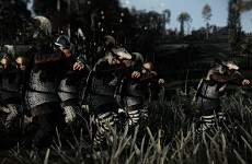 Germanic Long Axe Warriors