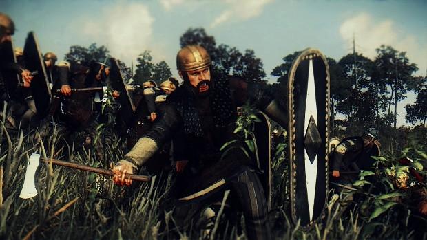 Germanic Axe Warriors