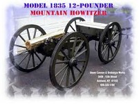 1835 12 lb Mountain Howitzer