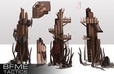 Mordor deffence outpost (Concept art)