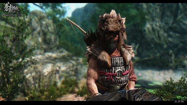 Bandit leader in game