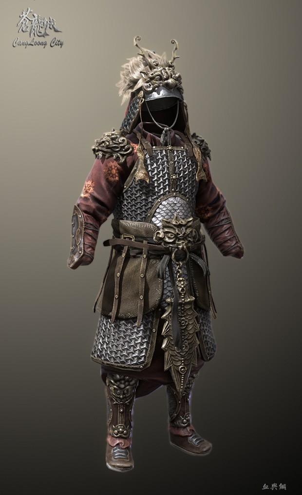 Lion armor