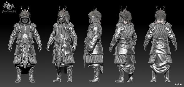 Lion armor--Tang