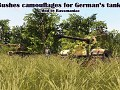 German's Vehicules Bushes camos by Bassmaniac (Men of War: Assault Squad)