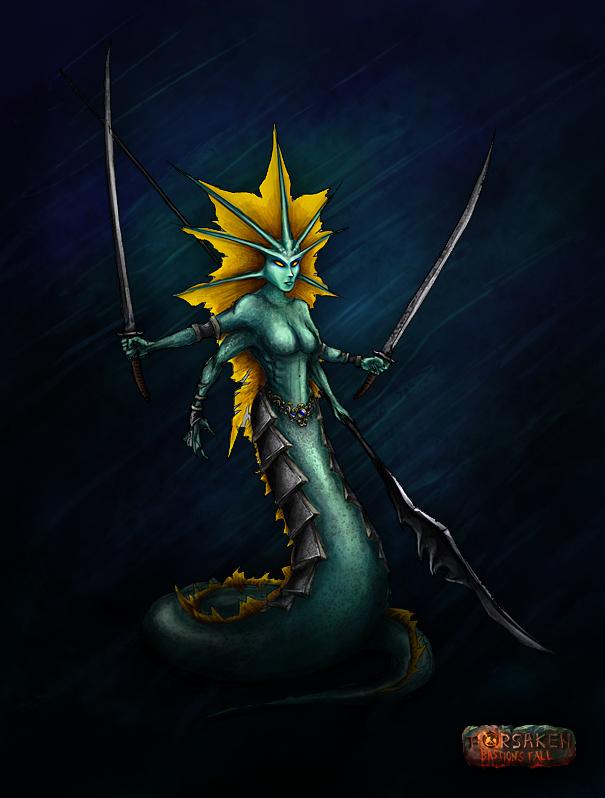 Naga Matriarch Fanart