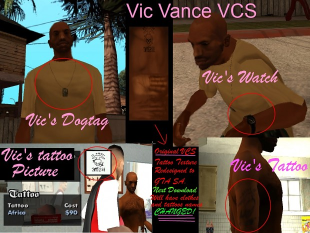 Vic Vance Items