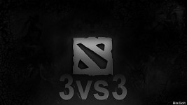 Dota2 remaked 3vs3 logo