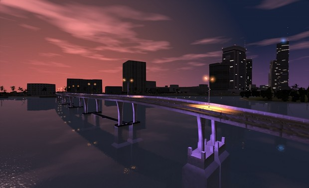 Vice City in RAGE Engine