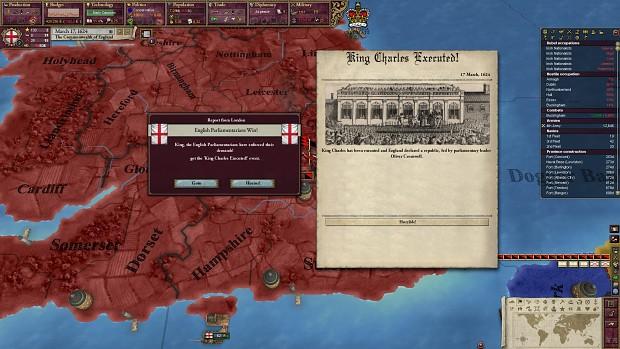 Lost the English Civil War