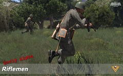 US Army and CSLA riflemen (Early Alpha)