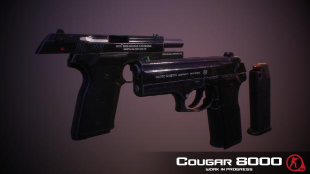 Beretta Cougar 8000 Render