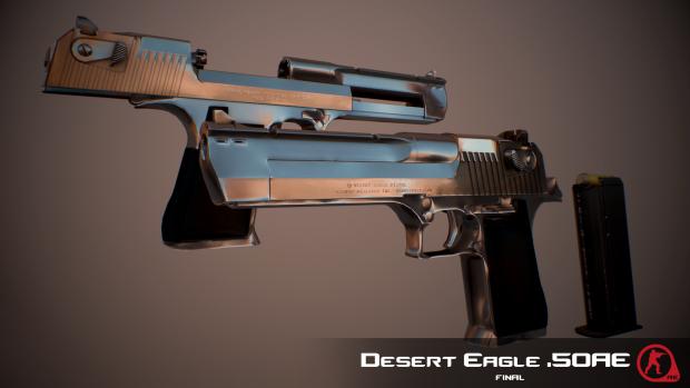 Desert Eagle Mark XIX Render