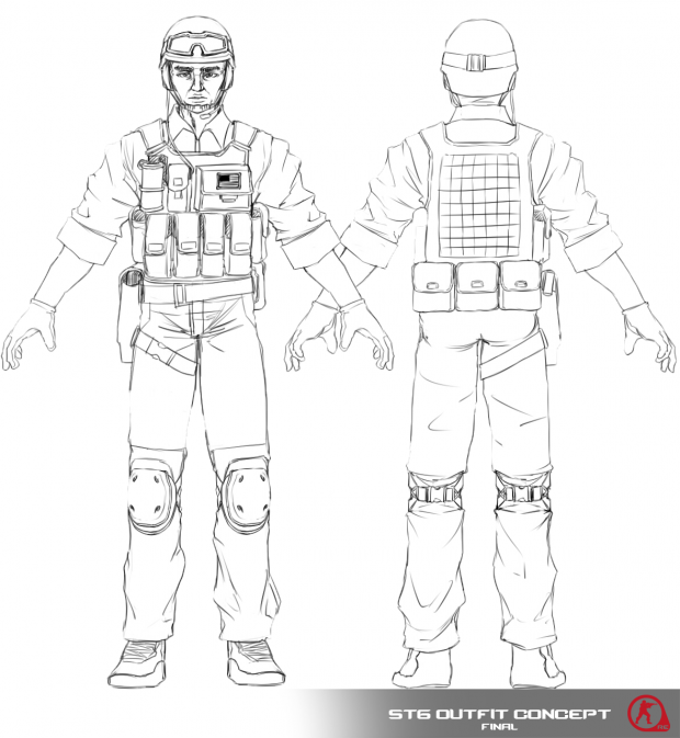 Seal Team 6 - Outfit Concept