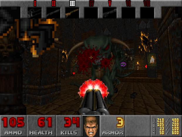 Doomguy in Hexen