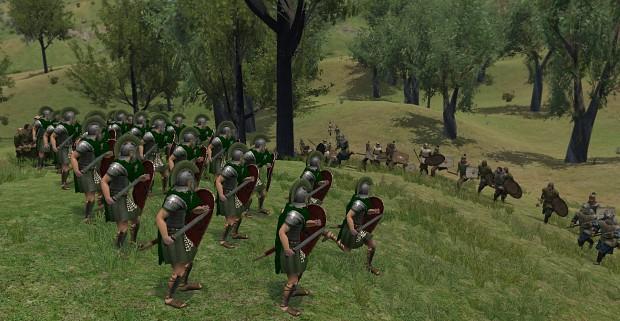 Roman Praetorian Cohort vs Aestians