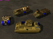 M1126, M1128, M2 Bradley and Humvee