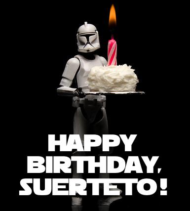 Happy Birthday Suerteto Image Galaxy At War The Clone