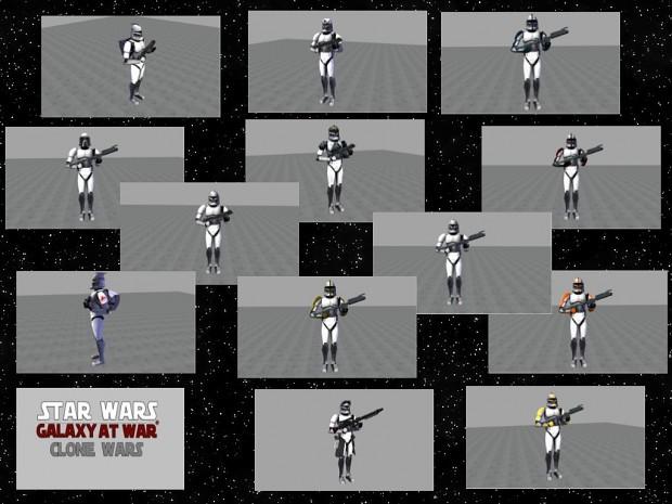 New Clones Phase 1