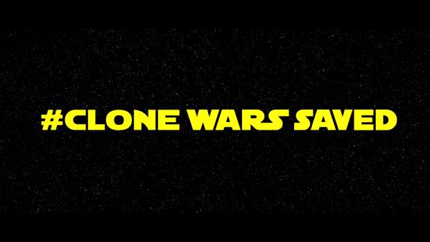 #Clone Wars Saved