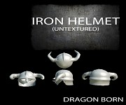 Iron Helmet (Untextured)