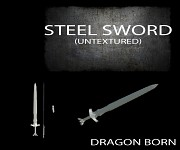 Steel Sword (Untextured)