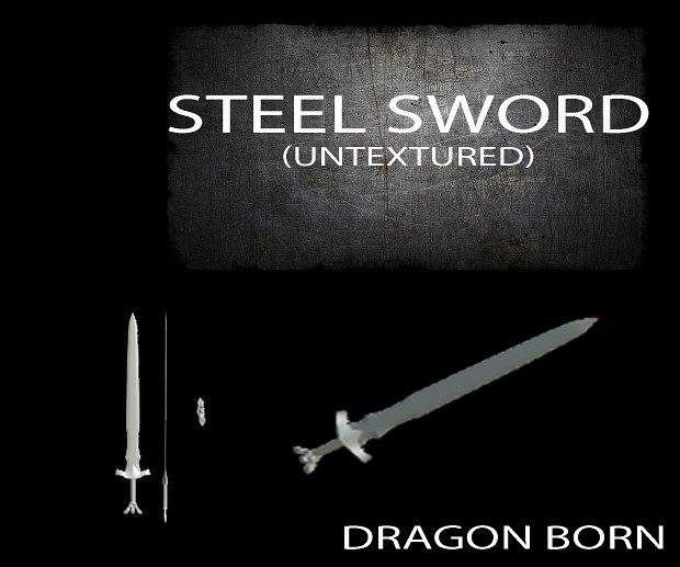 [SP][EN] Dragón Born Steelsword_preview_dragonborn