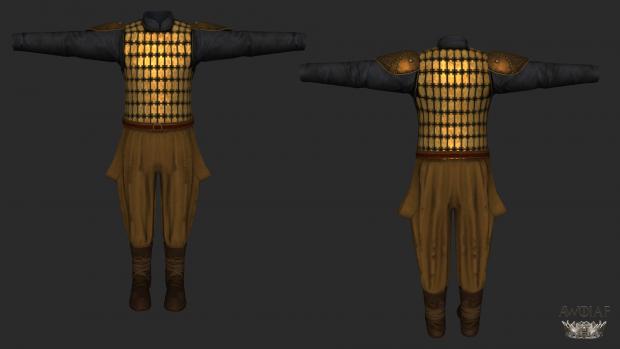 Golden Company Armour 1
