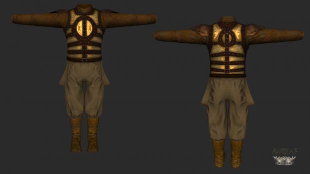 Golden Company Armour