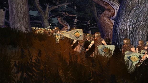 [Kingdom of Doriath] Sindarin Axemen