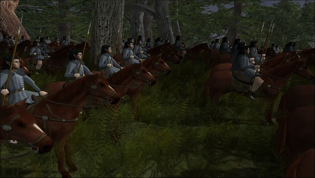 [Kingdom of Doriath] Sindarin Cavalry