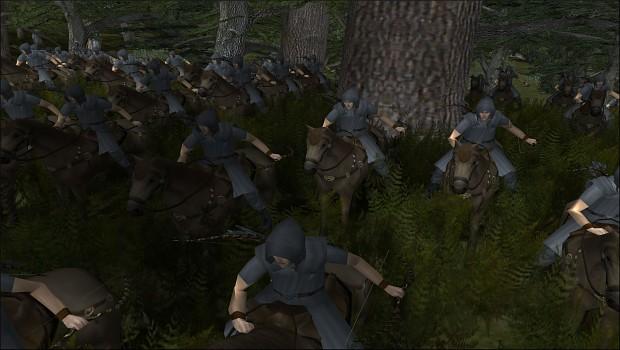 [Kingdom of Doriath] Sindarin Mounted Wardens