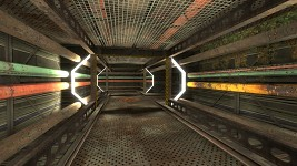 Another hallway for Spacewreck by Hydral
