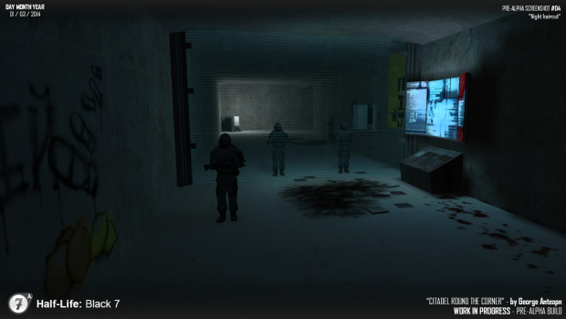 [Pre-alpha] Half-Life: Black 7 screenshot #04
