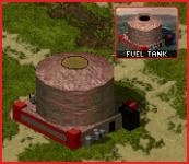 Soviet fuel tank
