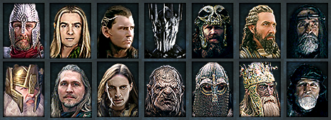 Faction Leaders of the War of the Last Alliance