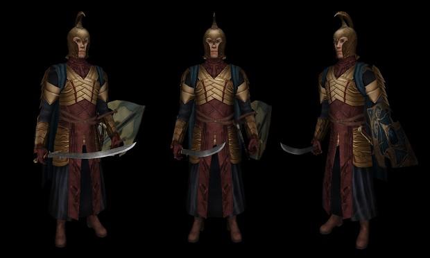 Elite Elven Bodyguard