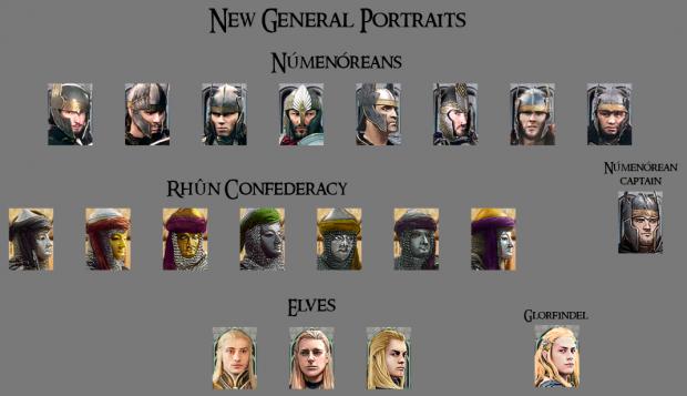 Custom portraits preview